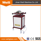 Double Glazing Equipment Rotated Sealant-Spreading Table Insulating Glass Machine