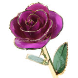 Christmas Gift or Valentine's Day with 24k Gold Dipped Rose (MG004red)