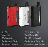 Starter Kit 5ml 75W Tc Mod Kanger Cupti Kit