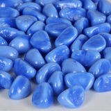 Home Decor Blue Ceramic Cashew