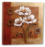 Decorative Floral Oil Painting (ADB169)