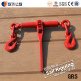 Rope Spray Ratchet Type Load Binder with Grab Hook