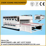 Chain Feeder 2 Color Flexo Printer Slotting and Die Cutting Machine
