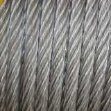 Electro Galvanized Dry Steel Wire Rope (6X7+FC)