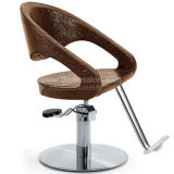 Soft Shaping Sponge with Metal Structure Reinforcement Salon Chair (A303)