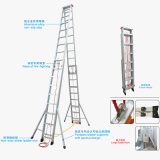 Aluminum Double Side Folding Extension Rope Ladder