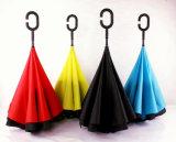 Double Layer UV-Resistant Reverse Umbrella with C Handle
