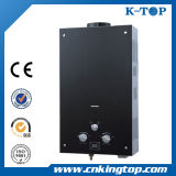 Black Color Glass Gas Water Heater, Hot Sales Gas Geyser