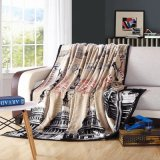 The White House design Printing Soft Flannel Fleece Blanket on Sofa or Bed
