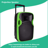 New Style 12 Inch Colorful LED Projection Speaker with Mic