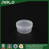 10g Empty Pharmaceutical Pills Medicine Packaging PP Plastic Jar with Hing Lid