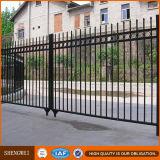 European Industrial Wrought Iron Fence Design