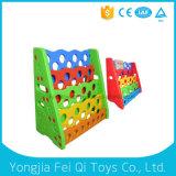 Kid Toy Plastic Bookshelf Plastic Toy Children Equipment School Furniture