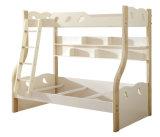 Korean Style Wooden Kids Bunk Bed for Children Bedroom Furniture (9008)
