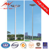 18m Galvanized Steel Mast Pole with Lifting System
