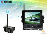 IP69k Waterproof Car Rear View 2.4GHz Digital Wireless Camera with 5.6-Inch Wireless Monitor for Bus