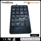 Black 23 Kyes Laptop Wired USB Numeric Keyboard