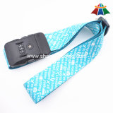 "High-Quality Nylon 2"" Text Heat-Transfer Luggage Strap with 3 Dails Lock"