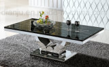 Square Marble Stainless Steel Furniture (CT6108#)