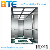 Vvvf Mirror Etched Passenger Elevator with Gearless Motor