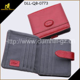 PU Leather Lady Wallet Outside with Special Design and Very Reasonable Price