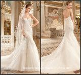 Beading Wedding Dress Sweetheart Mermaid Bridal Wedding Gown Ld1163