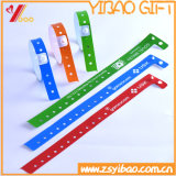Medical Cheap Kids Waterproof PVC Disposable Bracelet for Identification, Tyvek Frid Wristband (XY-PW-01)