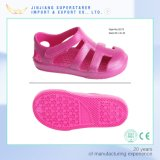 Funky Cute Kids Sandals Shoes, EVA Girl Shoes with Hook and Loop Closure