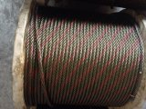Galvanized Steel Wire Rope 6X37+FC with One Strand A2