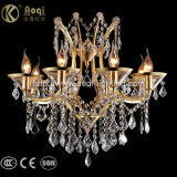Hot Sale Luxury Golden Crystal Chandelier Light
