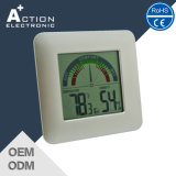 Digital Room Temperature and Humidity Thermometer with Comfort Show