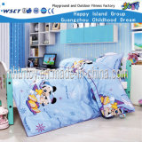 Children Furniture Mickey Mouse Wooden Bed Set (HF-07401)