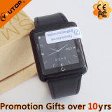 Business PU+Metal Smart Watch for Mobile iPhone (YT-WSD-07)