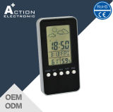 Weather Station Digital Clock with Temperature and Humidity