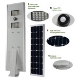 LiFePO4 Battery Integrated Solar Smart LED Street Light All in One Dusk to Dawn