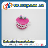 PS Plastic Wind up Teeth Toy for Kids
