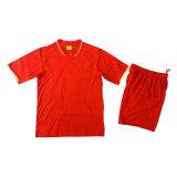 2016/2017 Cheap Custom Sublimation Men Striped Soccer Uniform T-Shirts Promotion