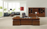 Professional Factory Made Luxury Wooden Office Desk with Painting (SZ-OD535)
