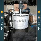 2000L Stainless Steel Dual-Agitated Mix Tanks
