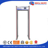 Outdoor Use Walk Through Metal Detector with Friendly LCD