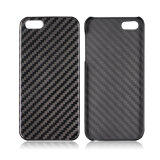 High Quality Ultra Thin Mobile Phone Accessories Real Carbon Fiber Case for iPhone 5 5s Cellphone