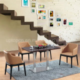 4 Seater Wooden Restaurant Dining Table and Chair (SP-CT633)