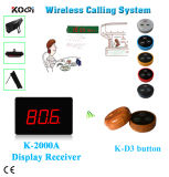 433.92MHz Smart Wireless Calling Bell System
