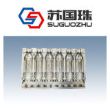 6 Cavities 500ml Water Bottle Blowing Mould for Linear Machine