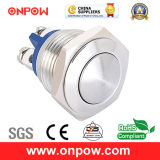 Onpow 16mm Metal Pushbutton Switch (GQ16B-10/S, CE, CCC, RoHS)