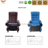 Comfortable Folding Theater Seating with Cup Holder