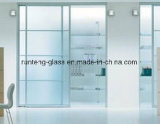 8mm Toughended Flat Acid Etched Glass for Doors and Windows
