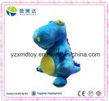 Cute Blue Giant Jurassic Age Dinosaur Plush Soft Children Toy