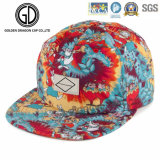 2016 Colorful Visor Printing Fashion Basketball Snapback Cap with Logo