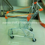 American Style Supermarket Metal Shopping Hand Trolley